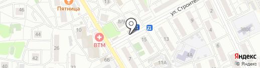Вегус, ЗАО на карте Люберец