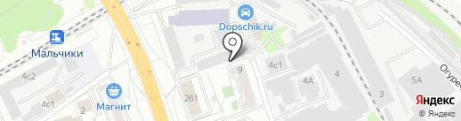 ЗАПЧАСТИНА на карте Люберец