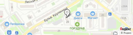 СВОД на карте Лыткарино