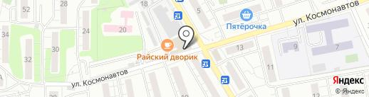 Магазин яиц на карте Люберец