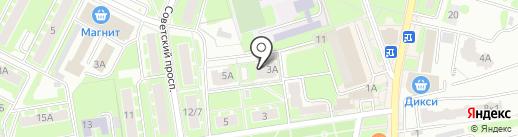 Нотариус Муравьева Л.Ю. на карте Ивантеевки