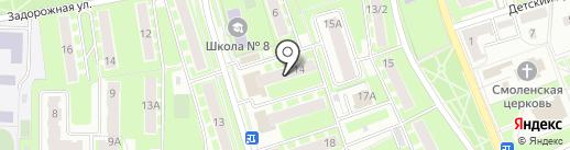 Столплит на карте Ивантеевки
