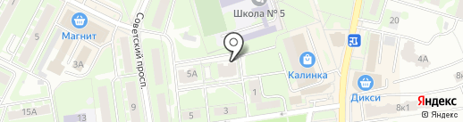 Пчёлка на карте Ивантеевки
