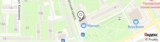 Лит.Ra на карте Ивантеевки