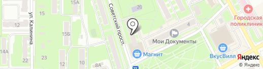 Многопрофильный магазин на карте Ивантеевки