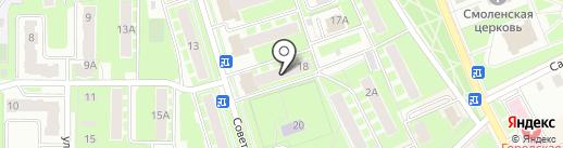 Ювелирная мастерская на карте Ивантеевки