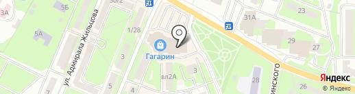 Mr.Сумкин на карте Ивантеевки