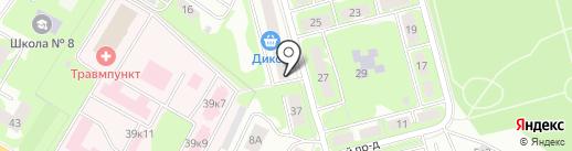 Хуторок на карте Ивантеевки