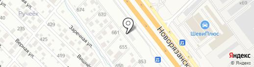 Burger King на карте Томилино