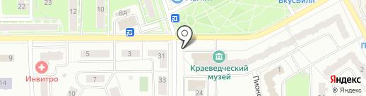 Первая полоса на карте Ивантеевки