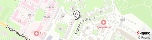 Ремонт без хлопот на карте Ивантеевки
