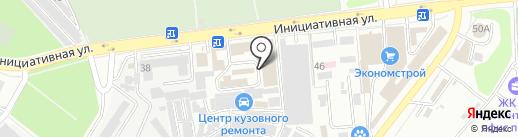 Адверт Технолоджис на карте Люберец