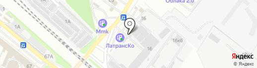 МетОриентир на карте Люберец
