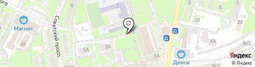 Екатерина Турс на карте Ивантеевки