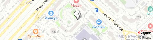 Почтовое отделение №140074 на карте Люберец