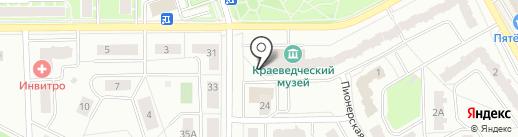 Ивантеевское телевидение на карте Ивантеевки