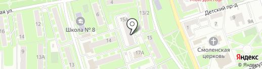 Мегаполис-Сервис на карте Ивантеевки