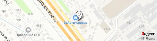 Хинкальная на карте Томилино