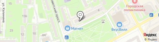 TianDe на карте Ивантеевки