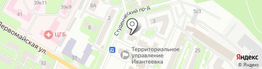 Мой компьютер на карте Ивантеевки