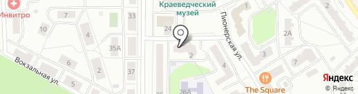 PS Market на карте Ивантеевки