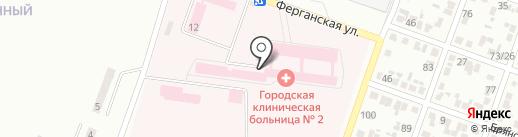 ДЛ-В на карте Макеевки