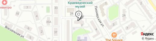 Продуктовый магазин на карте Ивантеевки