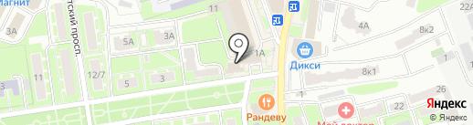 Антошка на карте Ивантеевки
