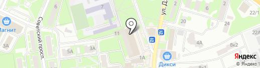 Платежный терминал на карте Ивантеевки