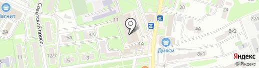 ПЕРЕЦ на карте Ивантеевки