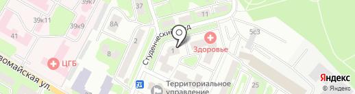 Техкомсервис на карте Ивантеевки