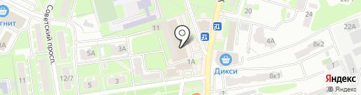 Оптика-Стиль на карте Ивантеевки
