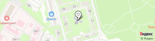 Детский сад №17, Петушок на карте Ивантеевки