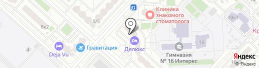 Почтовое отделение №140015 на карте Люберец