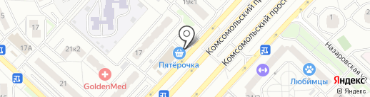 Sex Shop Moscow на карте Люберец
