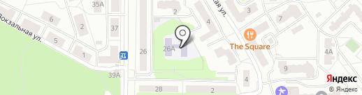 Детский сад №12 на карте Ивантеевки