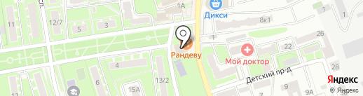 Пицц-н-ролл на карте Ивантеевки