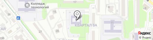 Детский сад №21 на карте Лыткарино