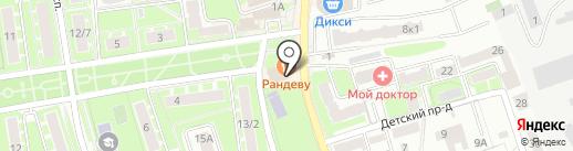 Магнит на карте Ивантеевки
