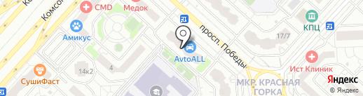 Голд Хаус на карте Люберец