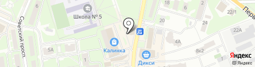 Кругосвет на карте Ивантеевки