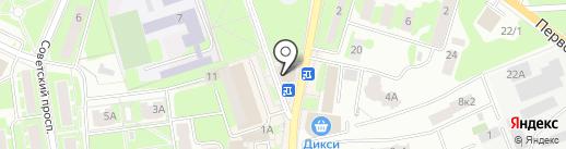 Два сердца на карте Ивантеевки