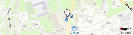 Банкомат, ВТБ Банк Москвы, ПАО Банк ВТБ на карте Ивантеевки