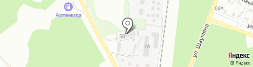 Автокомплекс, СПД Бевз С.С. на карте Макеевки
