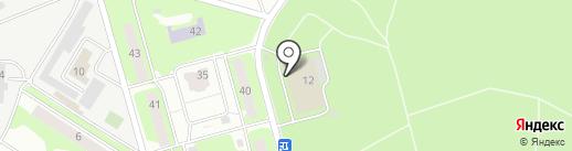 Автокомплекс на карте Ивантеевки