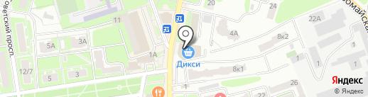 Анюта на карте Ивантеевки