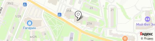 Диа-Тур на карте Ивантеевки