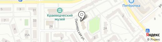 Расти на карте Ивантеевки