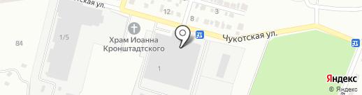 Механик на карте Макеевки