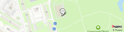 Ника на карте Ивантеевки